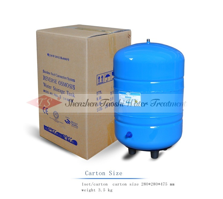 Metal 6g Water Storage Tank with Ce Certification