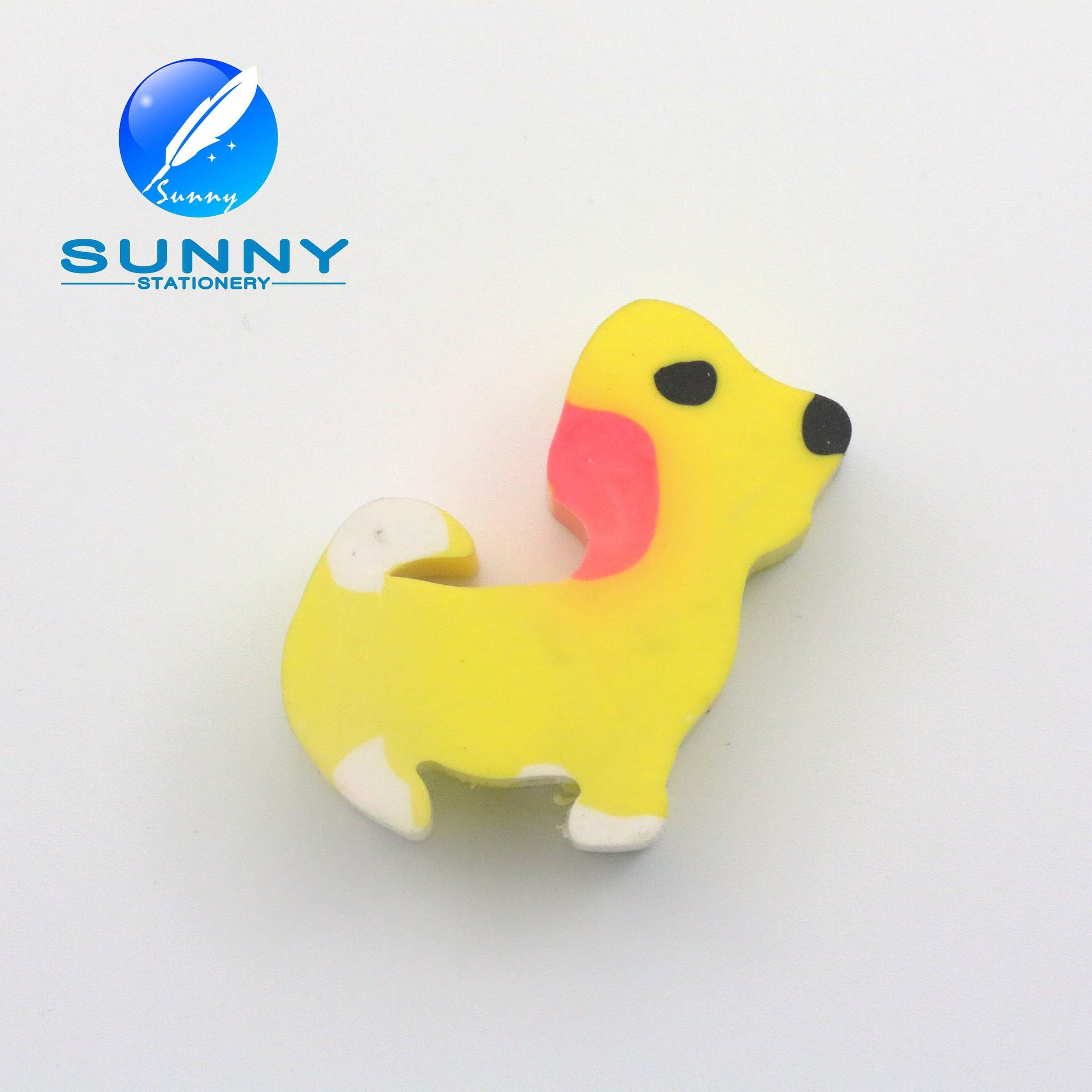 Low Price Promotion Eraser & Dog Shaped Rubber