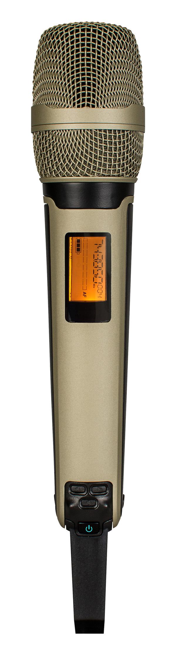 Golden Colour Beautiful Wireless Microphone GS-928