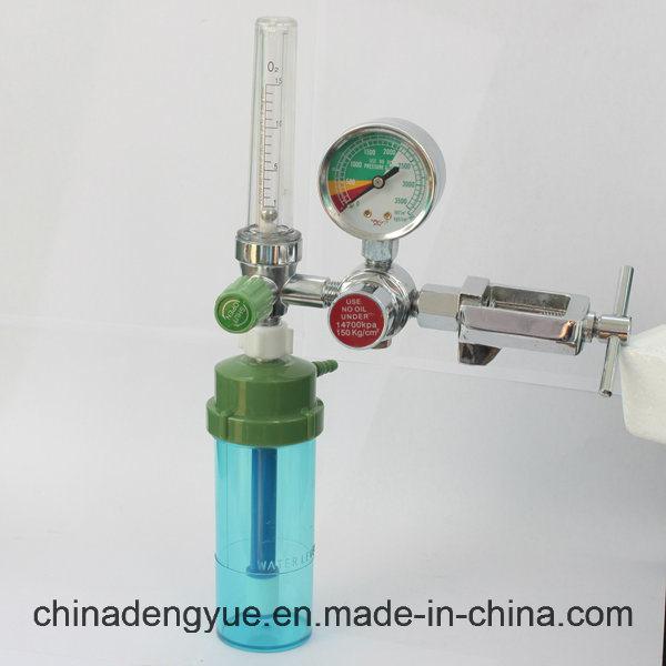 CE ISO Medical Oxygen Regulator with Flowmeter
