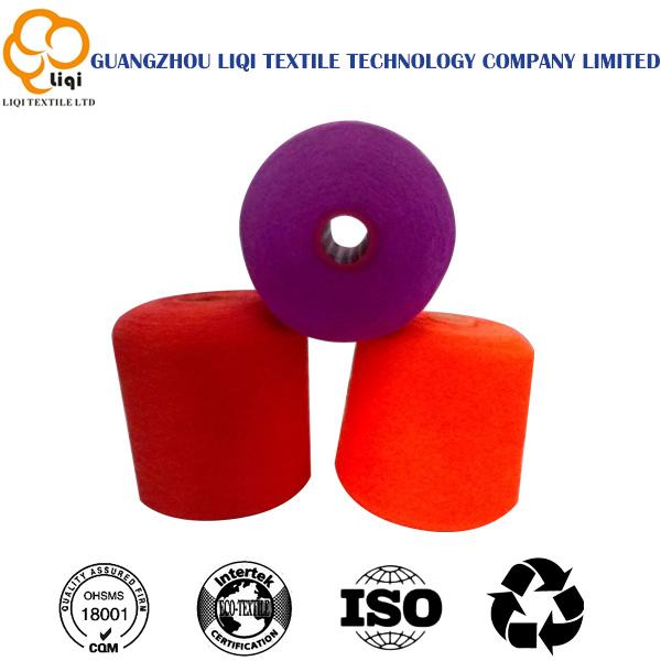 100% Polyester Spun Thread 62/2/3 Semi-Dull Fiber Quality Polyester Thread