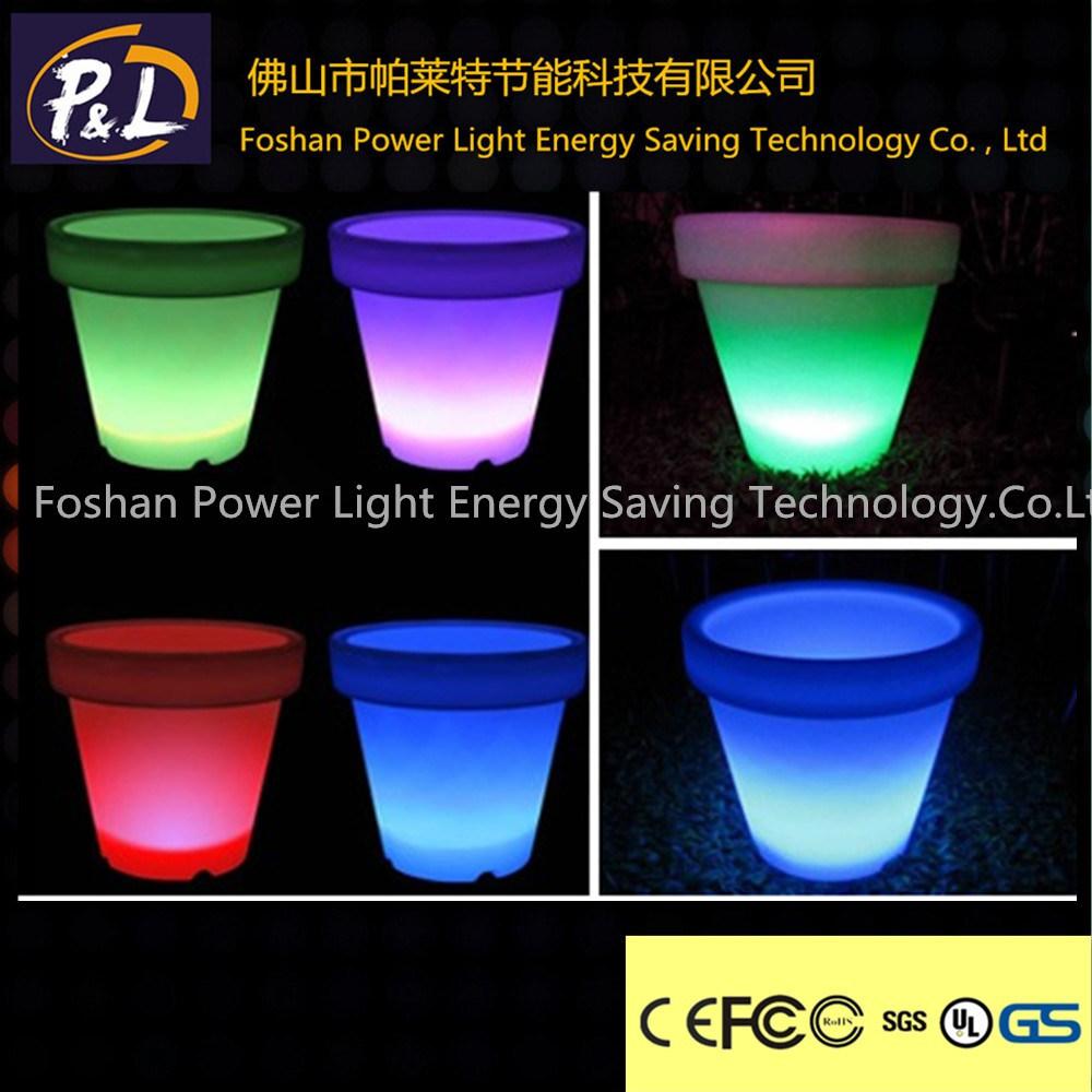Newest Outdoor&Indoor Decoration Lighting LED Flowerpot