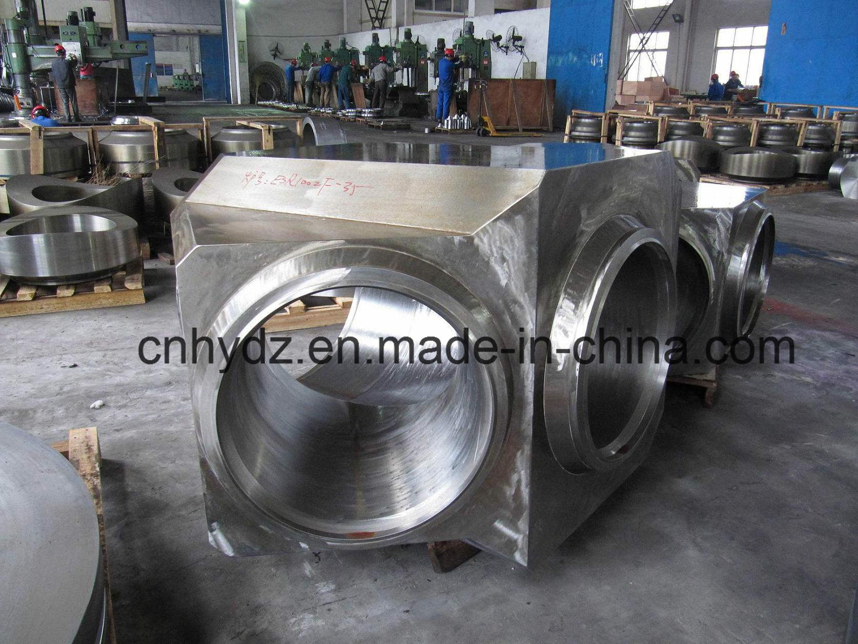 Hot Forged High Pressure Lateral Tee Valve
