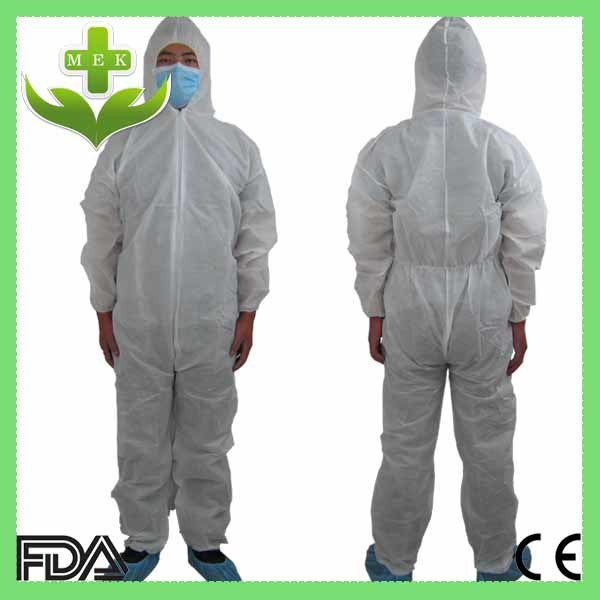 Xiantao Hubei OEM Disposable Non Woven Coverall