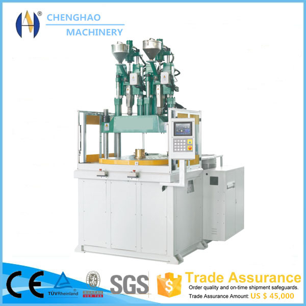 2 Color Double Cylinder Plastic Injection Moulding Machines 90 Ton
