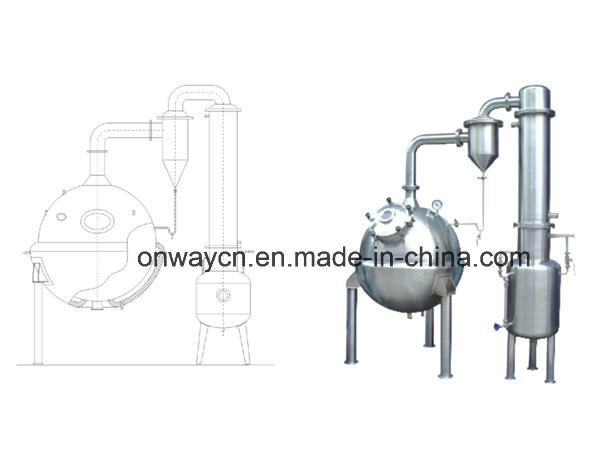 Qn High Efficient Factory Price Stainless Steel Milk Tomato Ketchup Apple Juice Concentrate Vacuum Industrial Juice Machine