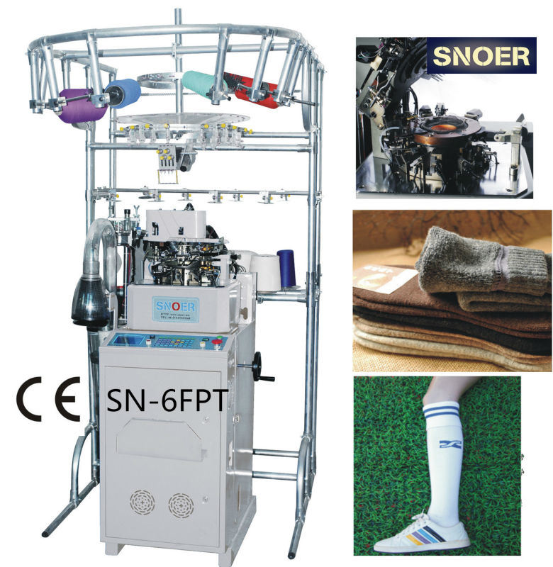 Terry Sports Socks Machine with 6 Needle Selection