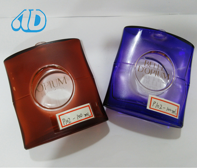Ad-P102 Perfume Beautiful Spray Glass Bottle 100ml 25ml