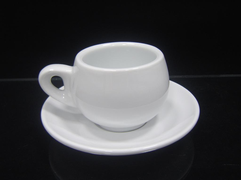 Porcelain Coffee Cup with Thick Wall