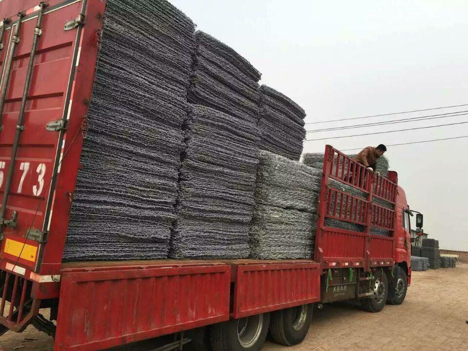 Highly Hot DIP Galvanized Gabion Box Anti-Rust China Anping Factory