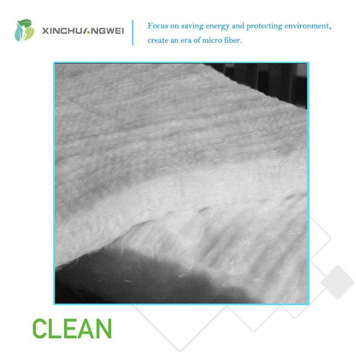 E-Glass Fiberglass Needle Mat Needle Stitched Felt for Heat Insulation