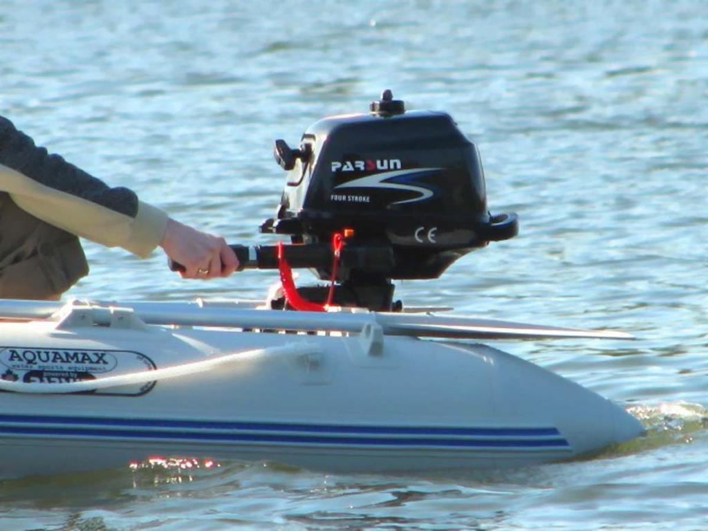 2.6HP 4-Stroke Outboard Motor