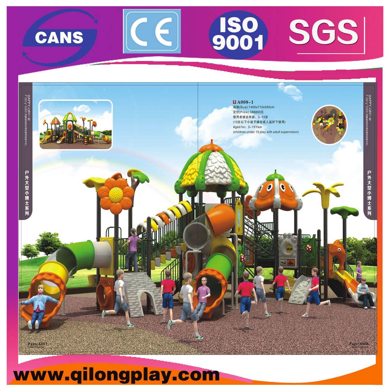 Kids Plastic Slide Outdoor Children Playground Equipment