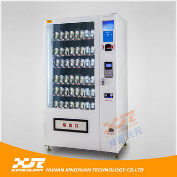 Phone Accessory Vending Machine with Coin and Banknote Acceptors