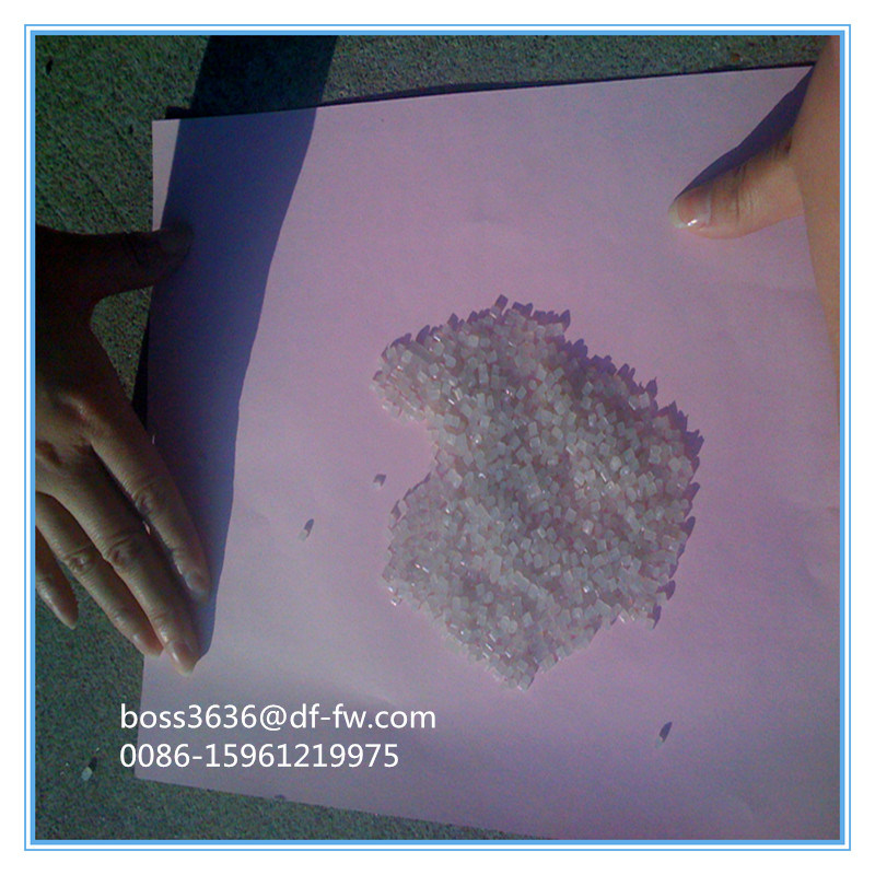 Transparent Recycled LDPE for Pipe