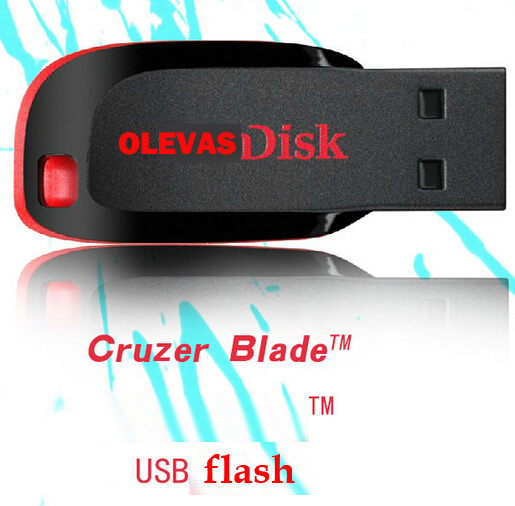 Real Capacity8GB 16GB 32GB 64GB 128GB 256GB U Pen / USB Flash Drive /Sandisks U-Disk-USB Stick -USB Drive