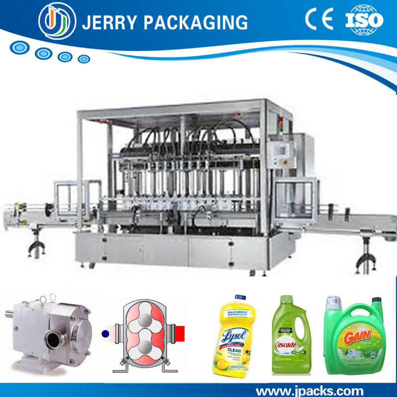 Automatic Cosmetic Shampoo Bottling Bottle Liquid Filling Machine China