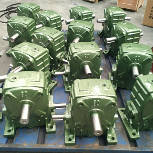 Wpa Single Worm Gear Box Machine and Speed Transmission for Motor