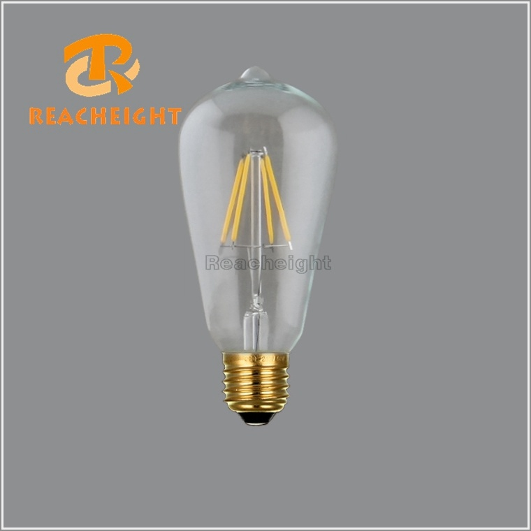 LED St64X4t Dimmable LED Filament Bulb