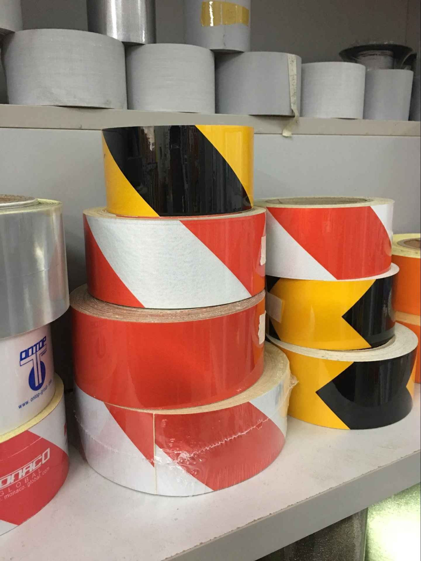 Adhesive Reflective Tape Honeycomb Reflective Marks for Truck Vehicle Warning