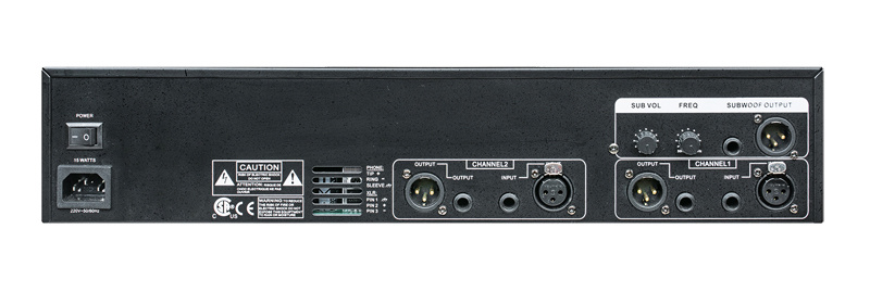 Professional Stereo Audio Processor Graphic Equalizer
