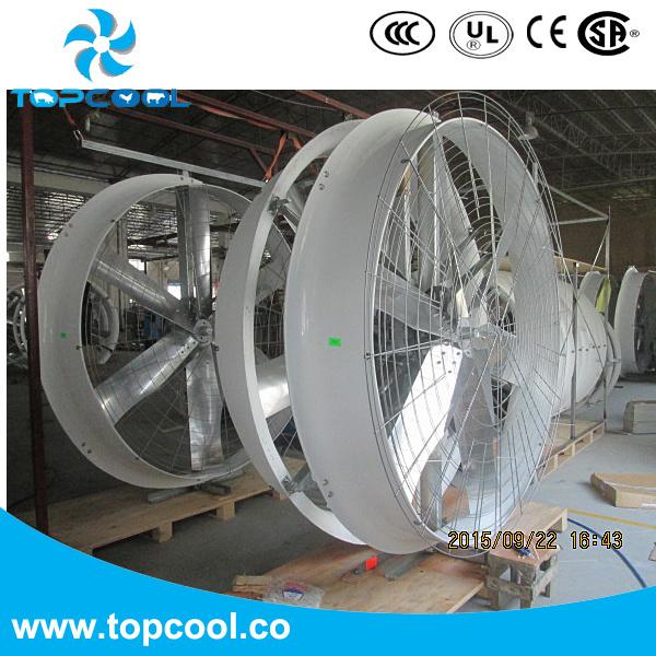 """Big Flow Volume Circulation Fan FRP Panel Fan 72"""""""