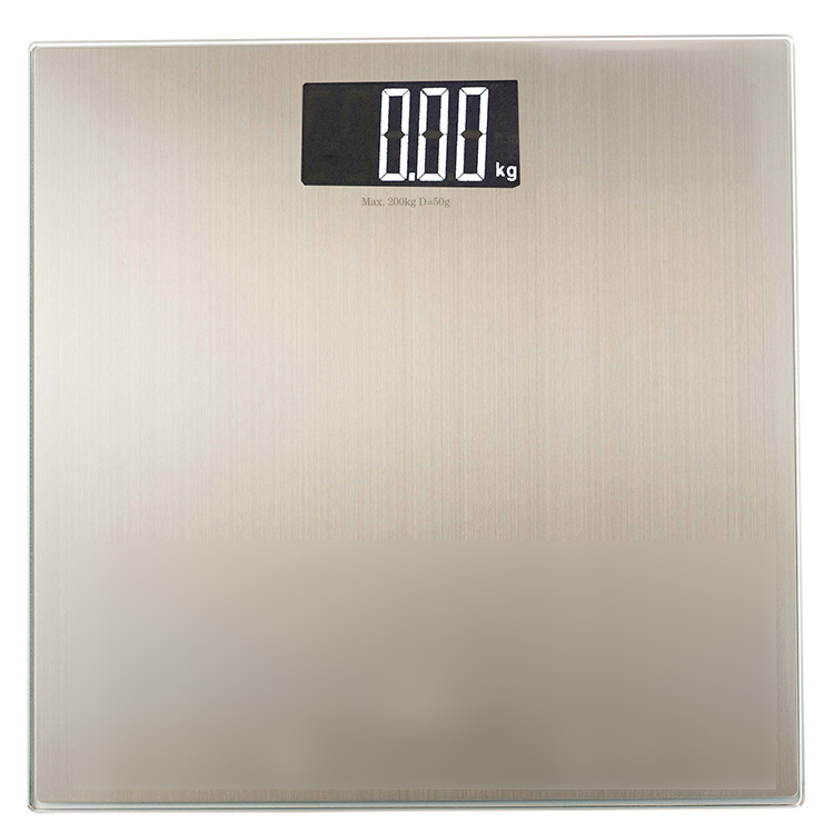 0.3mm Stainless Steel Slim Electronic Bathroom Weighing Scale