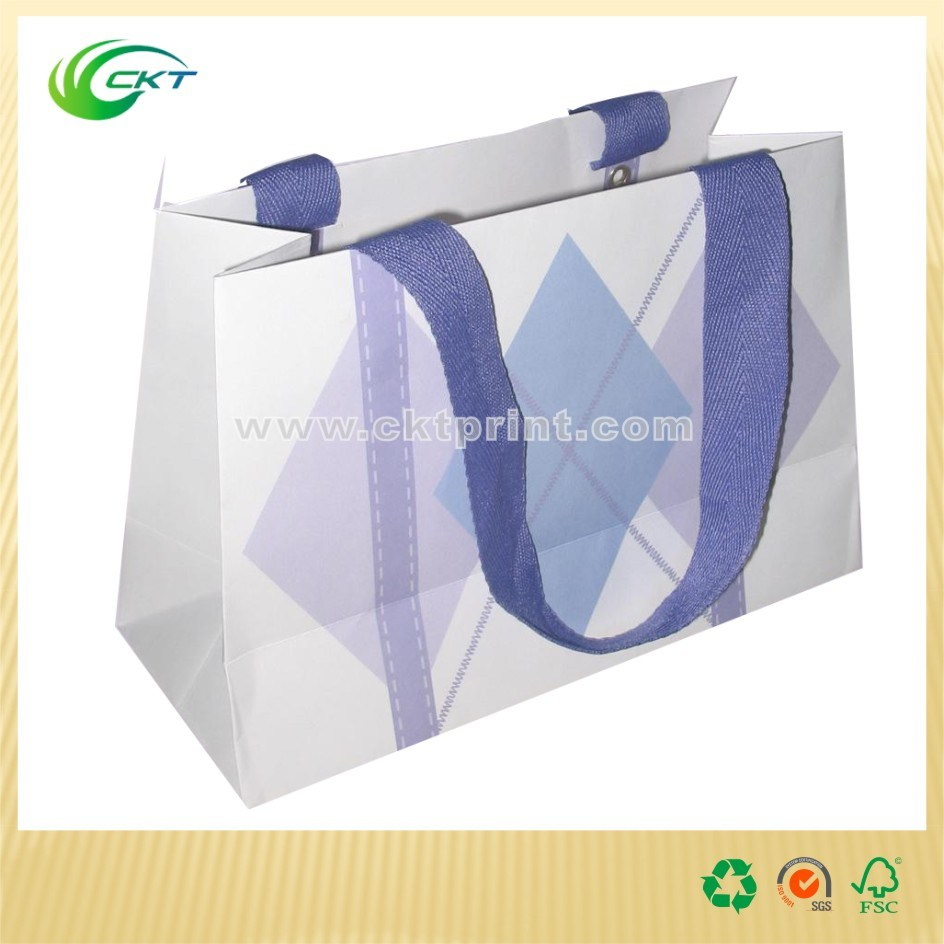 Fashion Carrier Paper Bags with Shopping (CKT--PB--312)