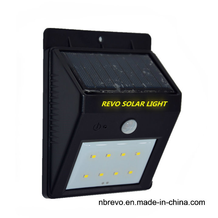 8/16/20LED Solar Powered PIR Motion Sensor Security Light (RS2003-8-4PK)