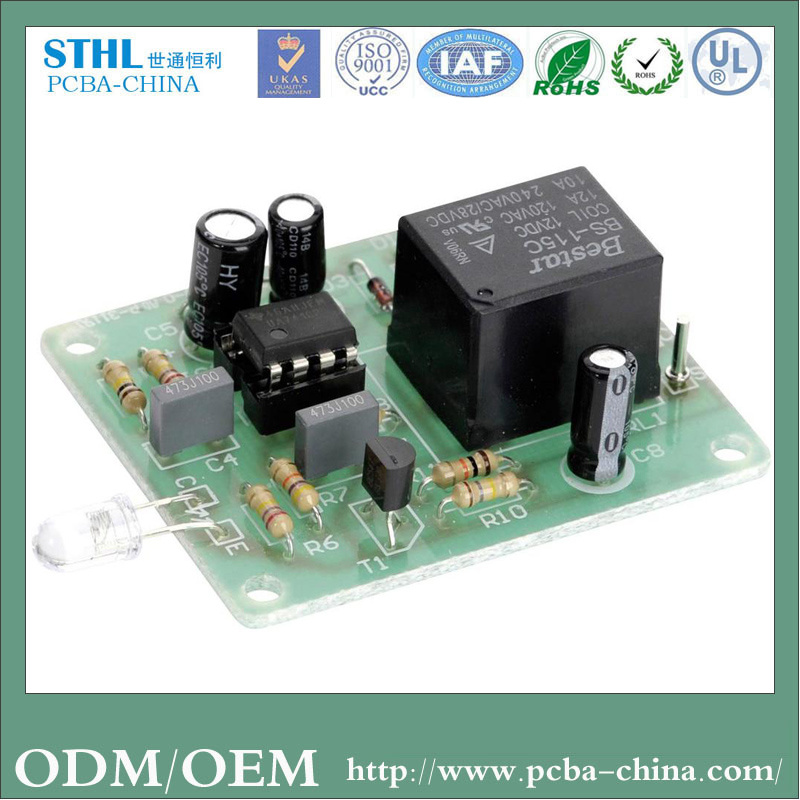 China Professional Fr-4 OEM Electronic PCBA for Set Top Box