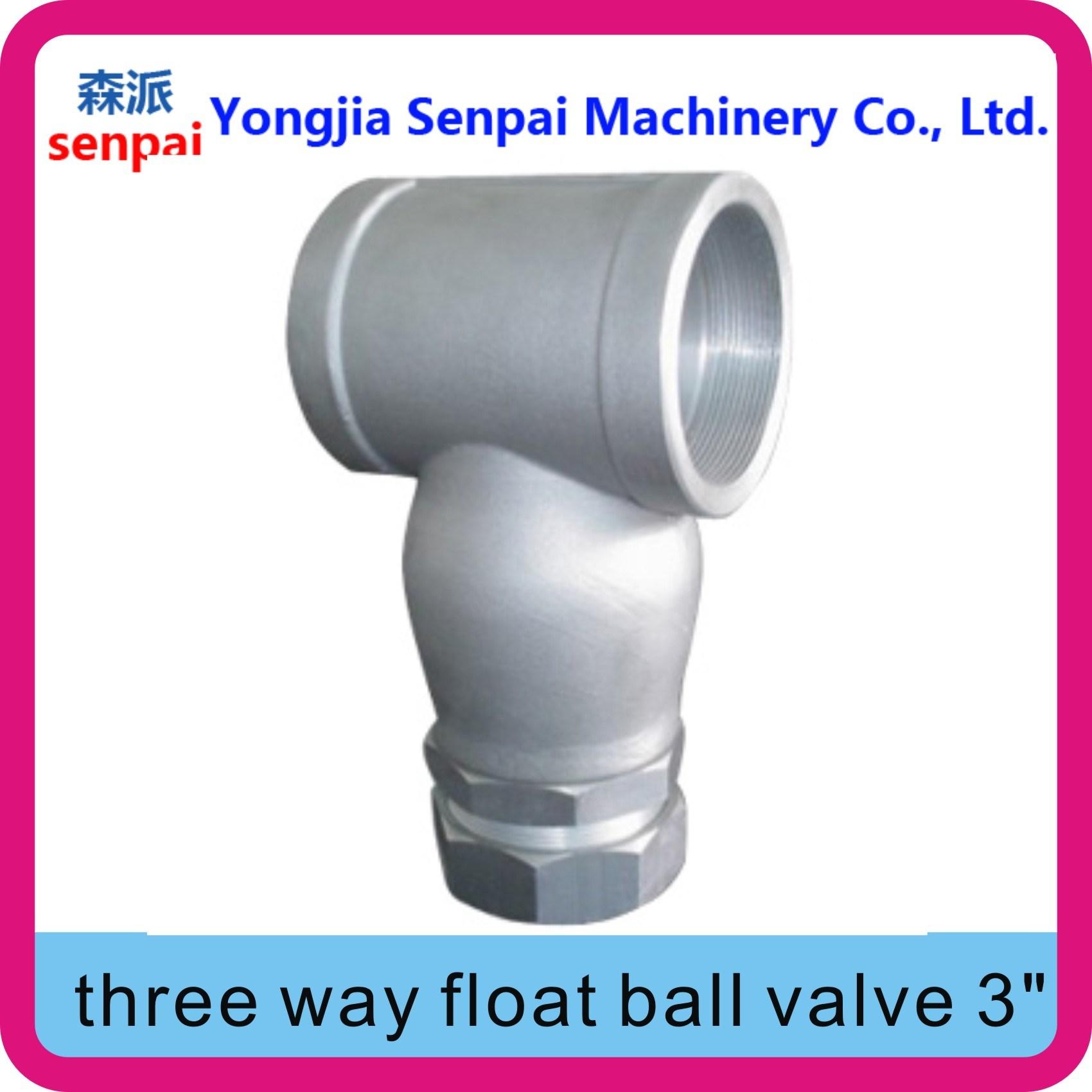 Three Way Float Ball Valve/Y-Bent Float valve
