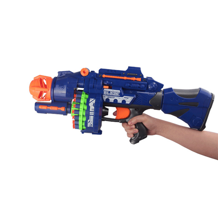 2207051-Semi-Automatic Soft Gun with 20 PCS Soft Bullet 20 PCS Suction Cup Bullet Shooting Pistol Toy