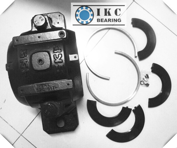 Ikc SKF Snl520-617 Snl526 Snl528 Snl532 Split Plummer Block with Bearings, Adapter Sleeve, Seals