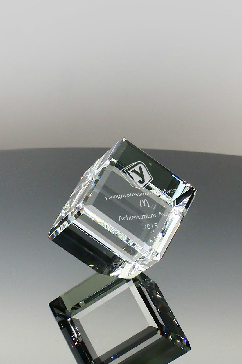Primo Crystal Clipped Cube Gift (#5030, #5031, #5041)