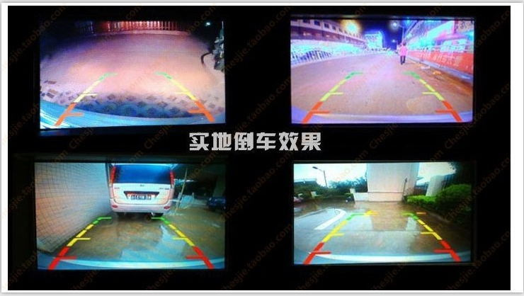 Universal Car Backup Camera Night Vision with 4PCS Super Bright LED