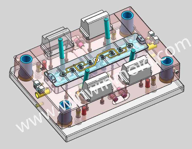 Professional Plastic Injection Mold Design Preliminary 2D Ga Full 3D Data Mold Manufacturer
