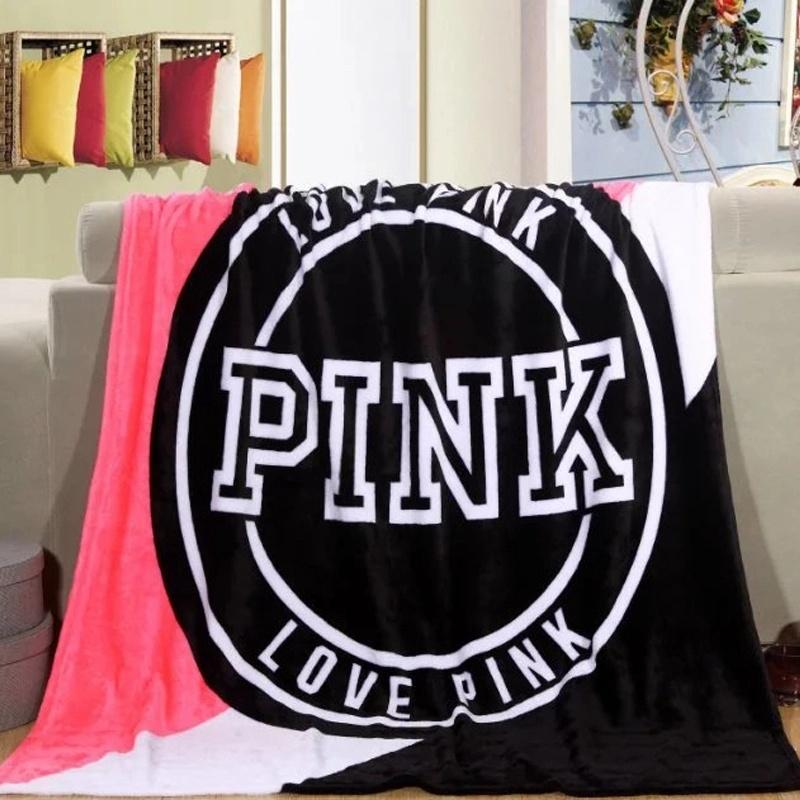 Type design Flannel Fleece Throw for Knee Blanket