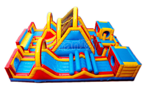 Adventure Rush Inflatable Obstacle Course Chob468
