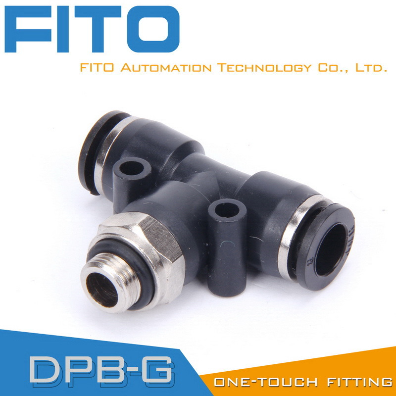 Pb Pneumatic Fitting One Touch Air Conncetor by Airtac Type