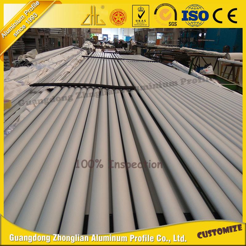Customized 6000 Series Anodized Aluminium Pipe Aluminum Tube