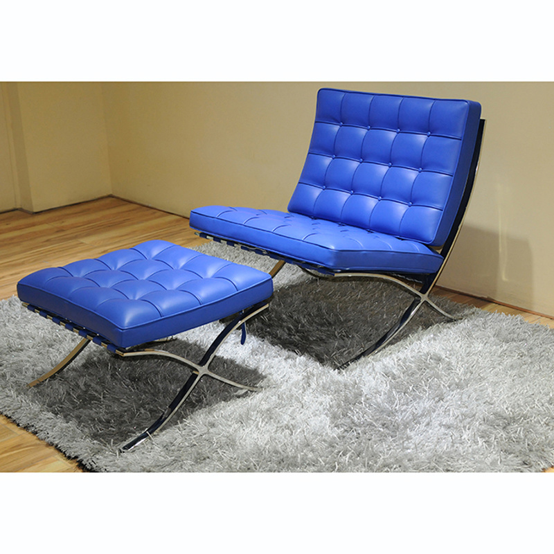 2017 Wholesale Living Room Lounge Leisure Chair Barcelona Chair (T03)