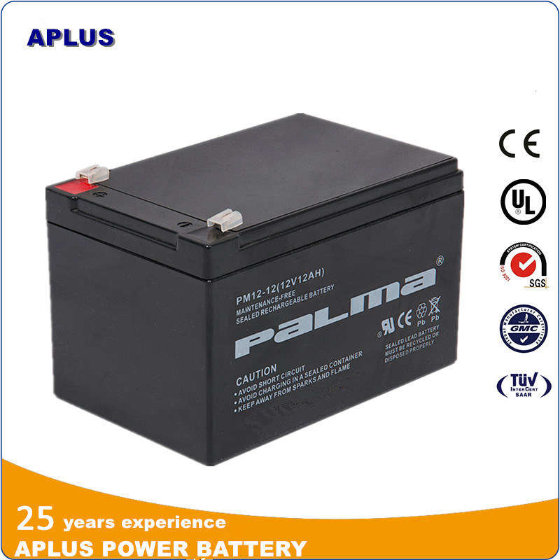 Wholesale 12V 12ah Maintenance Free Storage Batteries for UPS System