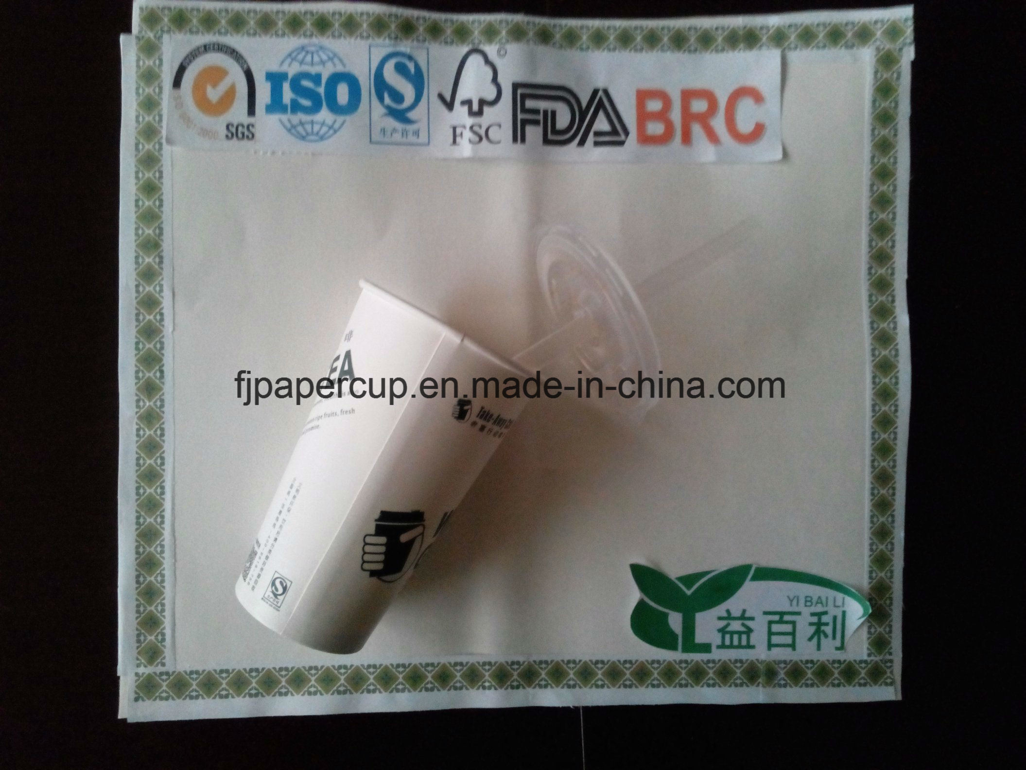 3oz PE Coated Cup Stock Paper for Drink