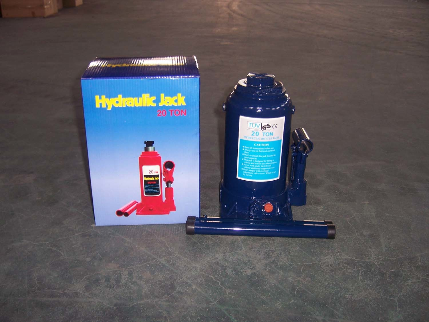 Hydraulic Bottle Jack (ZW3003B) 30tons Lift Jack