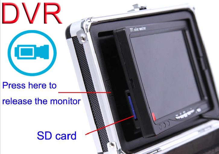 Underwater Camera 360 Degree Camera 7′′ DVR Video Recording 7B3