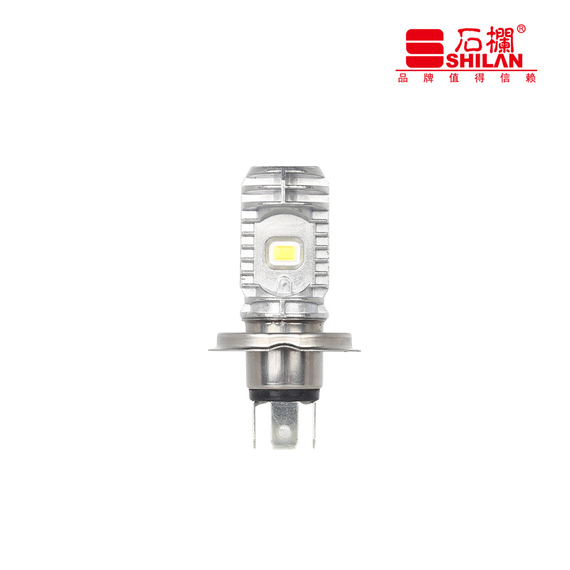 1200lm Motorcycle with Convex Lens LED Headlight 10W DC9-85V H4