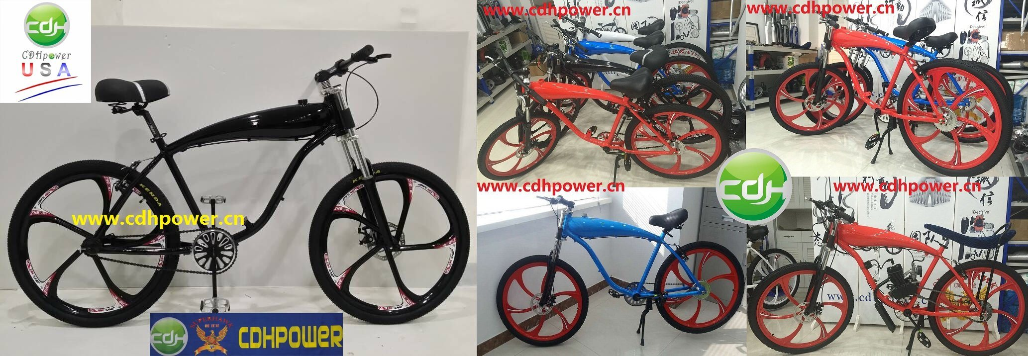 Bicycle; Bike with Engine Kit