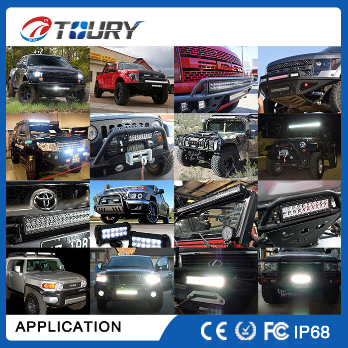 Auto 288W 50inch LED Working Light Bar Offroad 4WD Lamp for Car