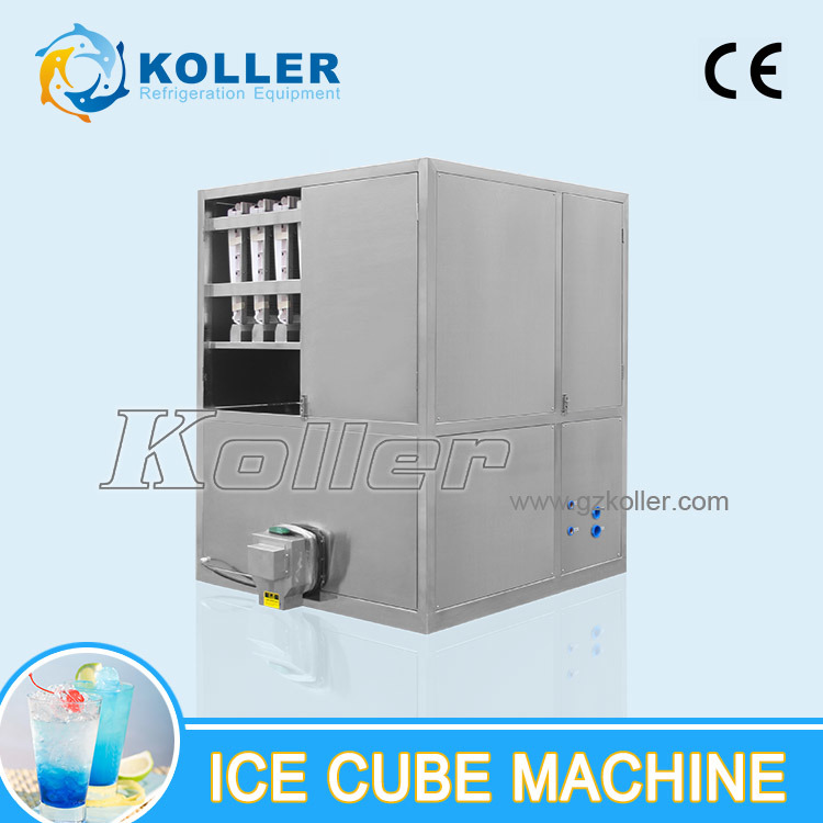 2 Tons Ice Cube Machine Widely Used in Hotels, Restaurants, Bars etc