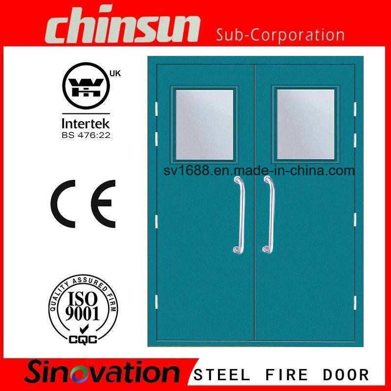 Us Standard Fire Rated Glass Door Steel Door